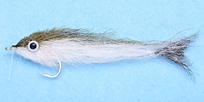 Saltwater flies,EP baitfish Gamakatsu 2//0 Red//black Tarpon Fly