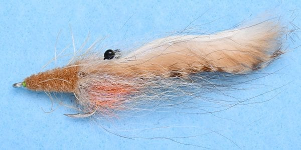 TARPON SP SUSPENDED SHRIMP TAN #1/0