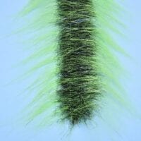 "EP™ CRAFTFUR BRUSH 3"" WIDE BRIGHT GREEN/BLACK"