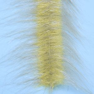 "EP™ CRAFTFUR BRUSH 3"" WIDE GREY OLIVE/YELLOW"