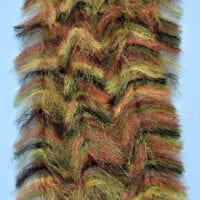 "EP™ CRUSTACEOUS BRUSH w/MICRO LEGS 1.5"" WIDE EVERGLADES"