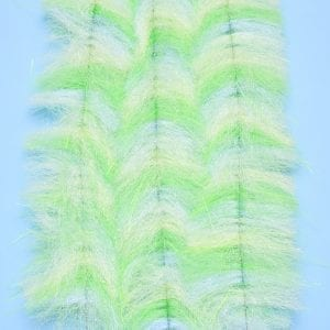 """EP™ CRUSTACEOUS BRUSH w/MICRO LEGS 1.5"""" WIDE MANTIS CHARTREUSE"""