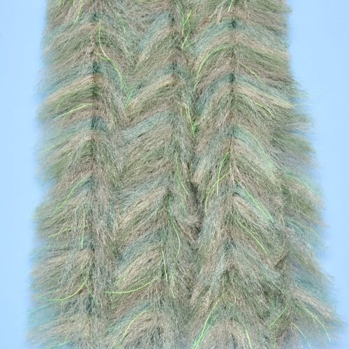 """EP™ CRUSTACEOUS BRUSH w/MICRO LEGS 1.5"""" WIDE PALE OLIVE"""