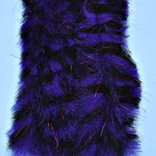 """EP™ CRUSTACEOUS BRUSH w/MICRO LEGS 1.5"""" WIDE TOAD BLACK/PURPLE"""