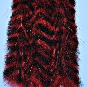 """EP™ CRUSTACEOUS BRUSH w/MICRO LEGS 1.5"""" WIDE TOAD BLACK/RED"""