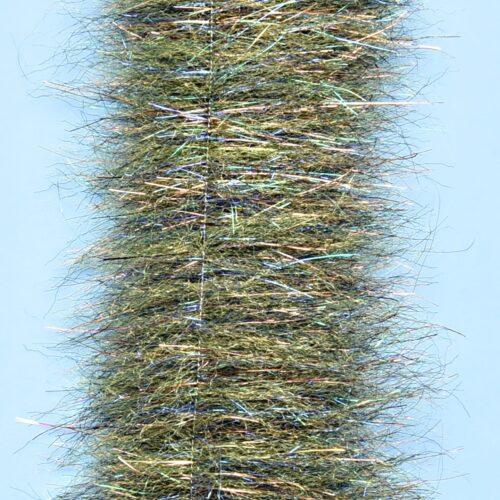"EP™ MINNOW HEAD BRUSH 1.5"" WIDE GRASS OLIVE"