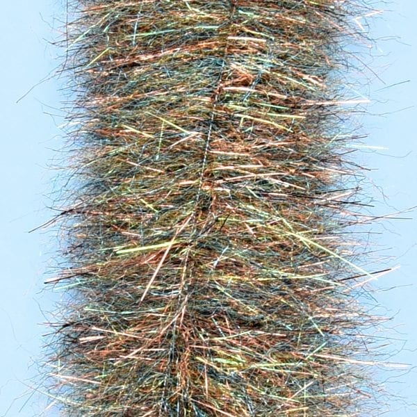 "EP™ MINNOW HEAD BRUSH 1.5"" WIDE ROOT BEER"