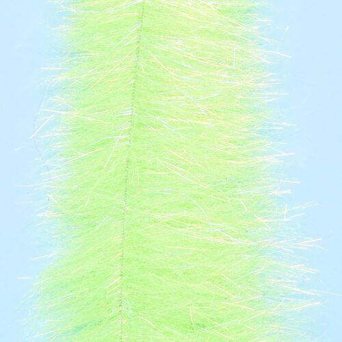 """EP™ MINNOW HEAD BRUSH 1.5"""" WIDE SHADED CHARTREUSE"""