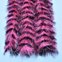 "EP™ PREDATOR BRUSH 1.75"" WIDE HOT PINK/BLACK"