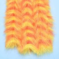 "EP™ PREDATOR BRUSH 1.75"" WIDE ORANGE/YELLOW"