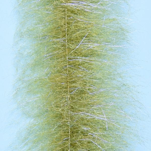 "EP™ SHRIMP DUB BRUSH 2"" WIDE GRASS OLIVE"