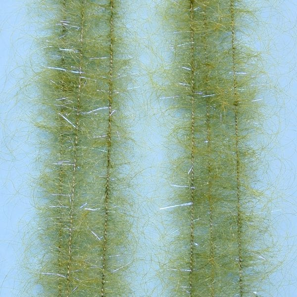 "EP™ SHRIMP DUB BRUSH .75"" WIDE GRASS OLIVE"