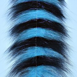 """EP™ SOMMERLATTE'S GRIZZLY FOXY BRUSH 3"""" WIDE BLUE/BLACK"""