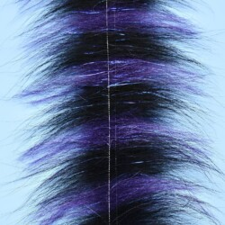 """EP™ SOMMERLATTE'S GRIZZLY FOXY BRUSH 3"""" WIDE BLACK/PURPLE"""