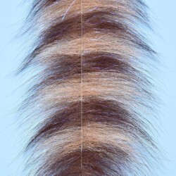 """EP™ SOMMERLATTE'S GRIZZLY FOXY BRUSH 3"""" WIDE BROWN/TAN"""