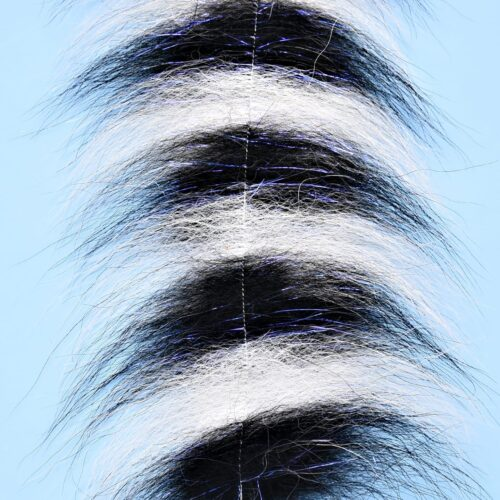 """EP™ SOMMERLATTE'S GRIZZLY FOXY BRUSH 3"""" WIDE BLACK/WHITE"""