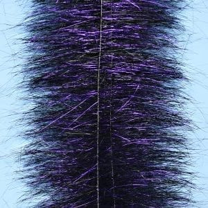 "EP™ SPARKLE BRUSH 3"" WIDE BLACK/PURPLE"