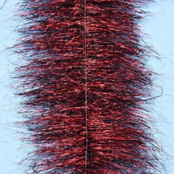 """EP™ SPARKLE BRUSH 3"""" WIDE BLACK/RED"""