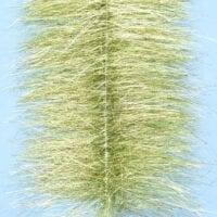 """EP™ SPARKLE BRUSH 3"""" WIDE CHARTREUSE"""