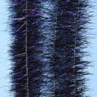 "EP™ SPARKLE BRUSH 1"" WIDE BLACK/PURPLE"