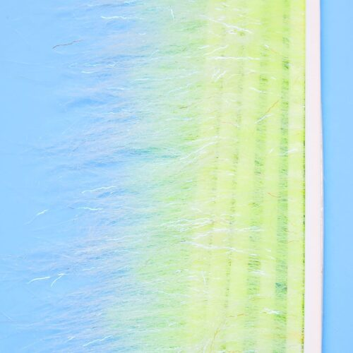"""EP™ SUBSURFACE BRUSH 3.5"""" WIDE WHITE/CHARTREUSE"""