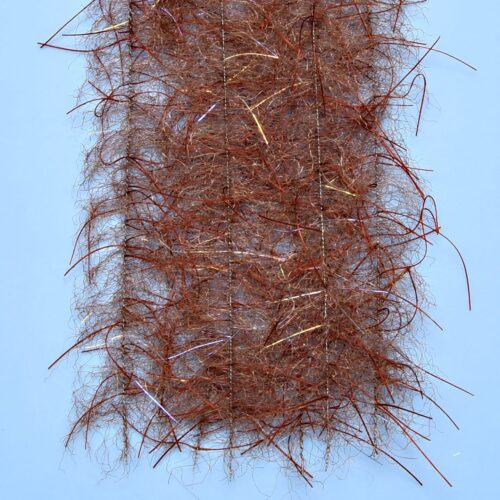 "EP™ TARANTULA HAIRY LEGS BRUSH 1"" WIDE BROWN"