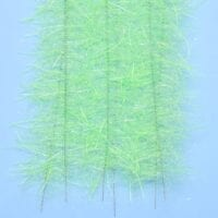 "EP™ TARANTULA HAIRY LEGS BRUSH 1"" WIDE CHARTREUSE"