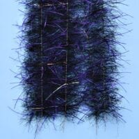 "EP™ TARANTULA HAIRY LEGS BRUSH 1"" WIDE PURPLE/BLACK"