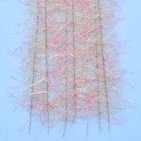 "EP™ TARANTULA HAIRY LEGS BRUSH 1"" WIDE PINK/TAN"