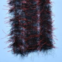 "EP™ TARANTULA HAIRY LEGS BRUSH 1"" WIDE RED/BLACK"