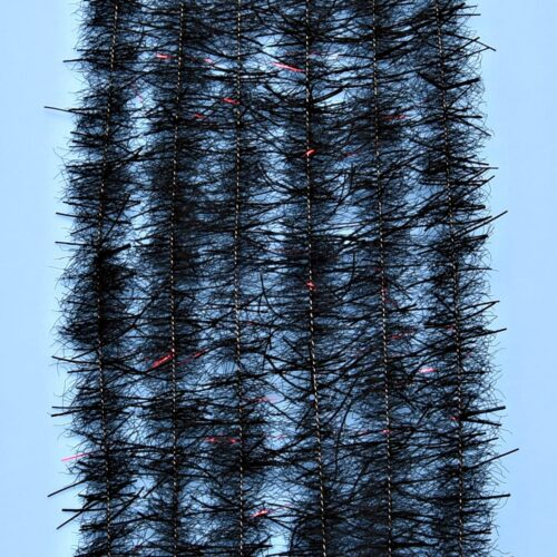 "EP™ TARANTULA HAIRY LEGS BRUSH .50"" WIDE BLACK"