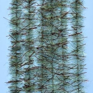 "EP™ TARANTULA HAIRY LEGS BRUSH .50"" WIDE BROWN/OLIVE"