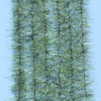 "EP™ TARANTULA HAIRY LEGS BRUSH .50"" WIDE OLIVE"