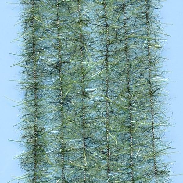 "EP™ TARANTULA HAIRY LEGS BRUSH .50"" WIDE OLIVE"