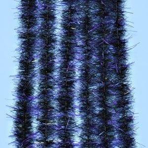 """EP™ TARANTULA HAIRY LEGS BRUSH .50"""" WIDE PURPLE/BLACK"""
