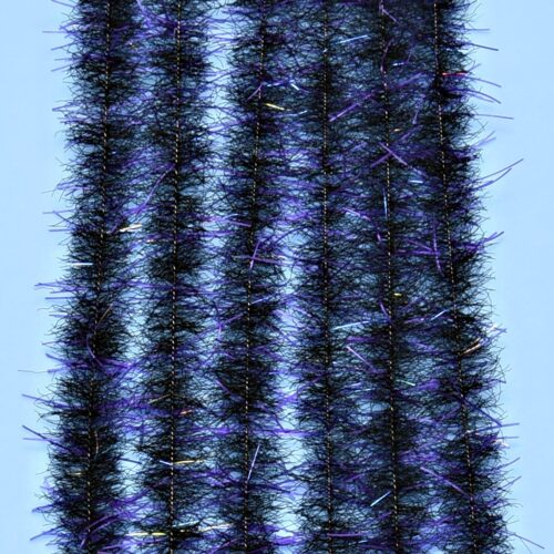 "EP™ TARANTULA HAIRY LEGS BRUSH .50"" WIDE PURPLE/BLACK"
