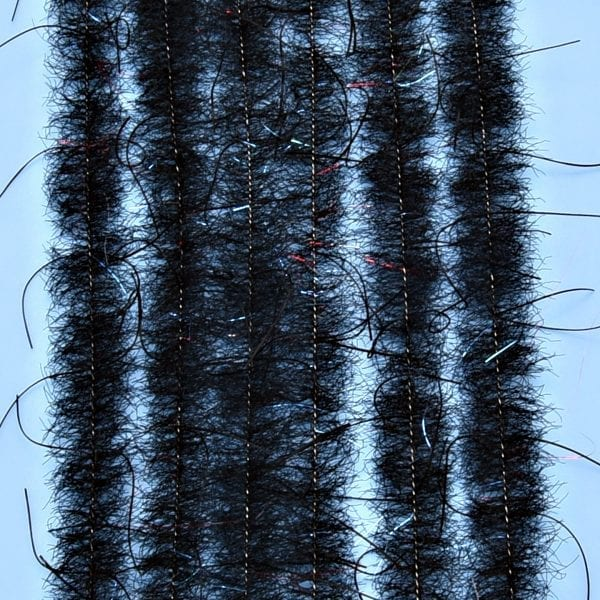 """EP™ WOOLY CRITTER BRUSH .50"""" WIDE BLACK"""