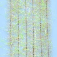 "EP™ WOOLY CRITTER BRUSH .50"" WIDE TAN/CHARTREUSE"