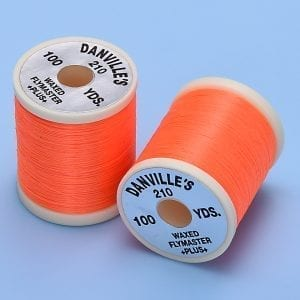 DANVILLE FLYMASTER PLUS 3/0 THREAD FL ORANGE