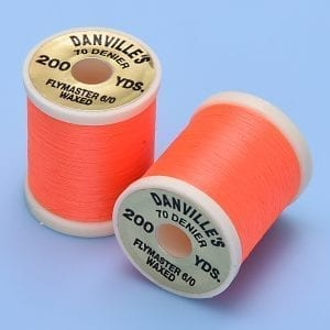DANVILLE FLYMASTER 6/0 THREAD FL ORANGE