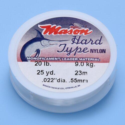 MASON HARD MONOFILAMENT 20LB.