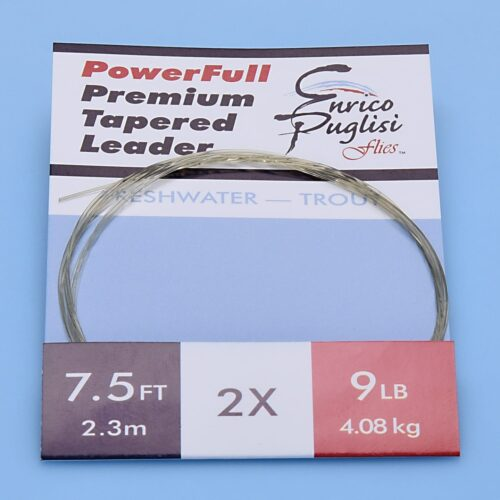 EP™ POWERFULL PREMIUM TROUT TAPERED LEADERS 7.5ft 2X