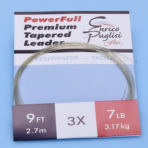 EP™ POWERFULL PREMIUM TROUT TAPERED LEADERS 9ft 3X