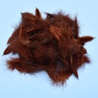 GRIZZLY MINI MARABOU BROWN