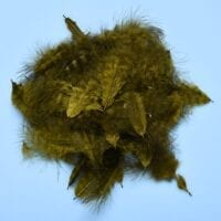 GRIZZLY MINI MARABOU OLIVE