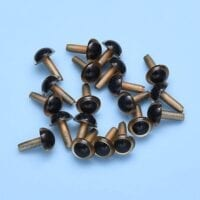 EP™ PLASTIC EYES GOLDEN 7.5mm