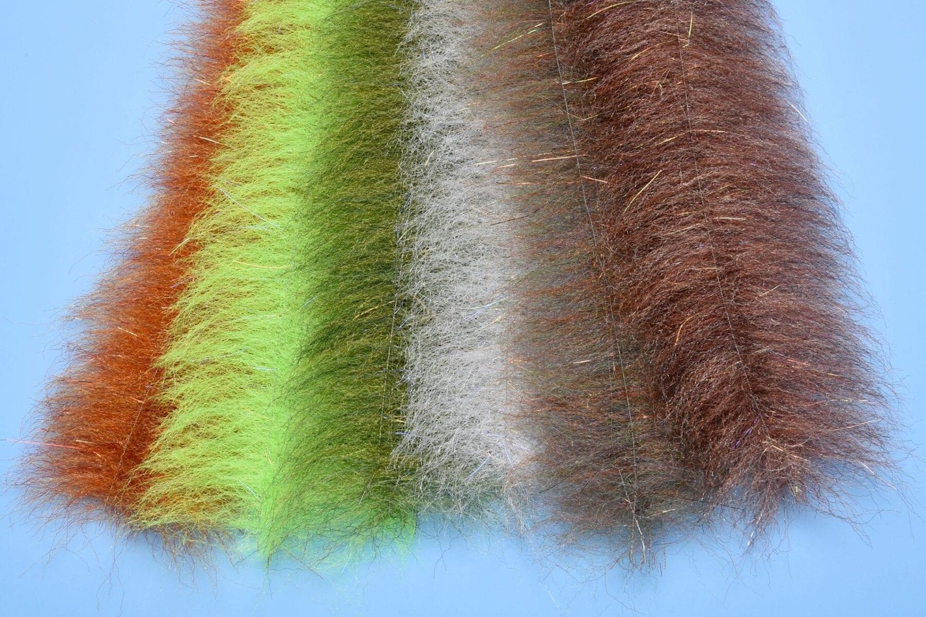 Enrico Puglisi 2.5 inch Streamer Brush Tan Fly Tying Materials BWCflies